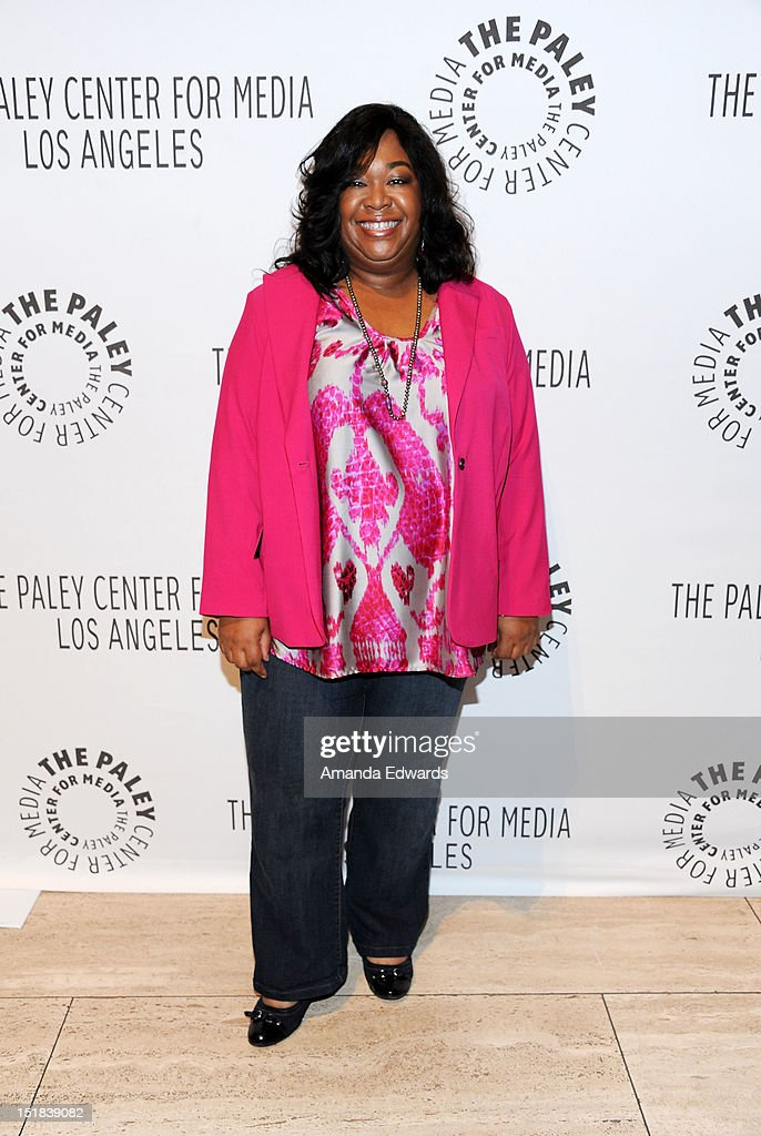Creator and Executive Producer Shonda Rhimes arrives at the 2012 PayleyFest : Fall TV Preview Party -ABC at The Paley Center for Media on September 11, 2012 in Beverly Hills, California.