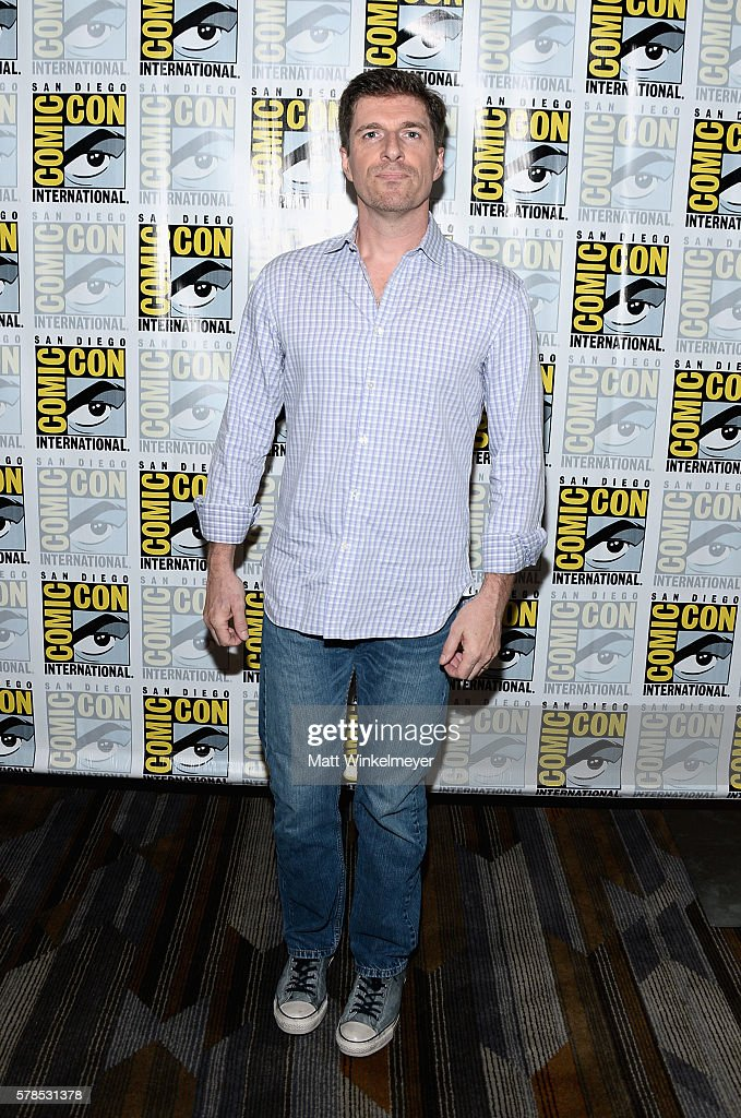 Creator Chuck Hogan attends FX's 'The Strain' press line during Comic-Con International 2016 at Hilton Bayfront on July 21, 2016 in San Diego, California. at Hilton Bayfront on July 21, 2016 in San Diego, California.