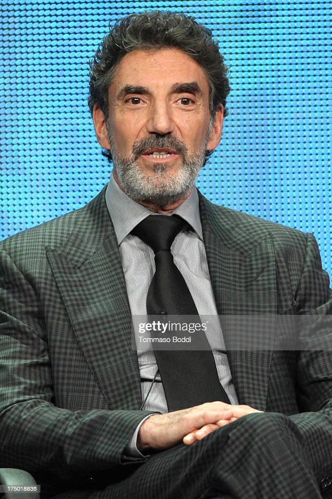 Creator <a gi-track='captionPersonalityLinkClicked' href=/galleries/search?phrase=Chuck+Lorre&family=editorial&specificpeople=2307242 ng-click='$event.stopPropagation()'>Chuck Lorre</a> of the TV show 'Mom' attends the Television Critic Association's Summer Press Tour - CBS/CW/Showtime panels held at The Beverly Hilton Hotel on July 29, 2013 in Beverly Hills, California.