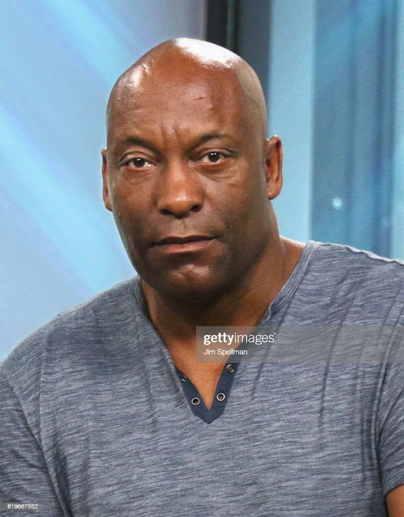 Creator John Singleton attends Build to discuss 'Snowfall' at Build Studio on July 20, 2017 in New York City.