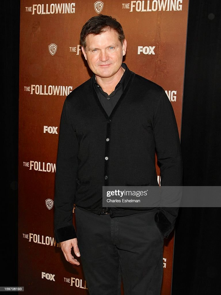 Creator Kevin Williamson attends 'The Following' premiere at The New York Public Library on January 18, 2013 in New York City.