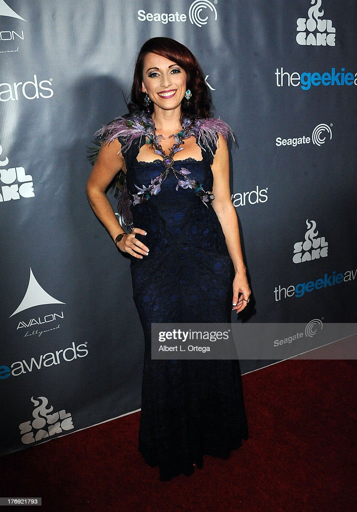 Creator Kristen Nedopak attends The 1st Annual Geekie Awards held at Avalon on August 18, 2013 in Hollywood, California.