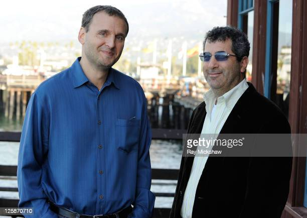 Creator of 'Everybody Loves Raymond' Phil Rosenthal and Producer of 'Exporting Raymond' John Woldenberg attend the Filmmaker and Press Meet and Greet...