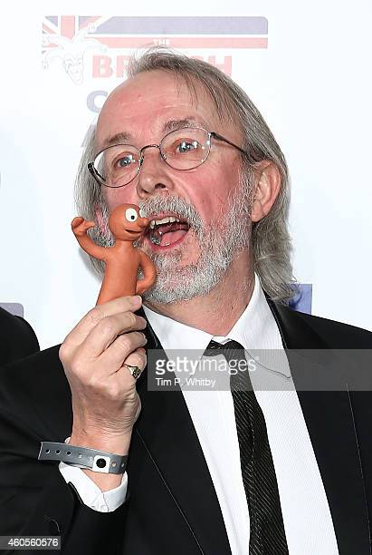 Creator of 'Morph' Peter Lord attends the British Comedy Awards at Fountain Studios on December 16 2014 in London England