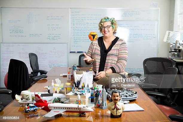 Creator of Netflix's original series 'Orange is the New Black' Jenji Kohan is photographed for Los Angeles Times on November 5 2013 in Los Angeles...