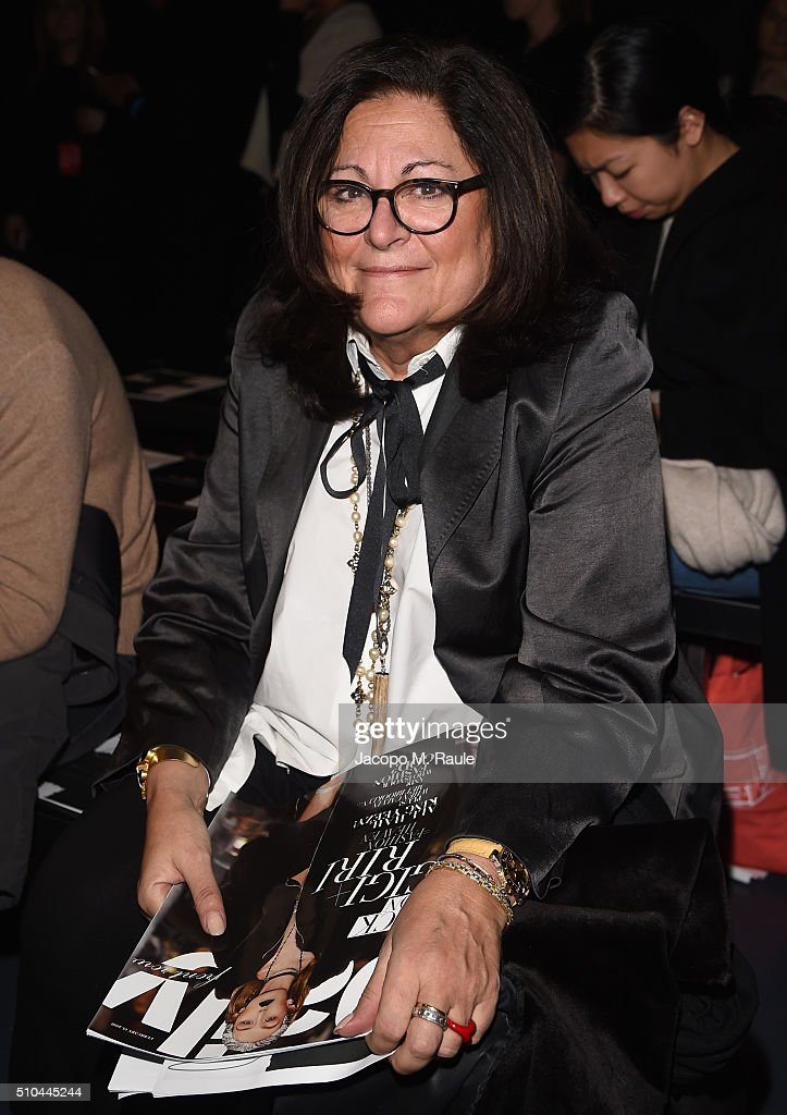 Creator of New York Fashion Week, Fern Mallis attends the Zero + Maria Cornejo Fall 2016 fashion show during New York Fashion Week at Pier 59 on February 15, 2016 in New York City.