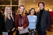 Creator of 'Preciously Paris' Carole Tessier Founder of Naked Heart Foundation Model Natalia Vodianova Sarah de chez colette and General manager of...