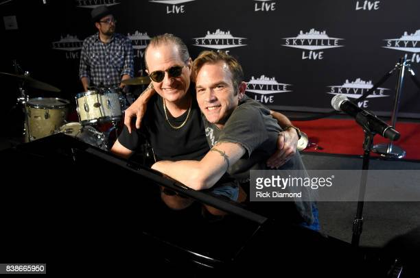 Creator of Skyville Live Wally Wilson and Waylon Payne attend Skyville Live Presents a Tribute to Jerry Lee Lewis on August 24 2017 in Nashville...
