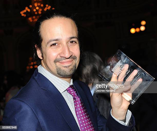 Creator of the hit Broadway play 'Hamiliton' 2015 MacArthur Foundation Award recipient and 2016 Pulitzer Prize Winner for Drama LinManuel Miranda...