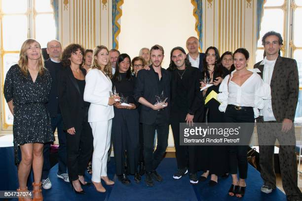 Creator of the Price Nathalie Dufour General Director of 'Yves Saint Laurent' Francesca Bellettini 'Prix de l'Innovation' AudreyLaure Bergenthal for...