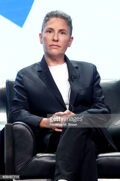 Creator of 'Transparent' and 'I Love Dick' Jill Soloway speaks onstage during the 'Transgender Trends on TV Today Panel' portion of the 2017 Summer...
