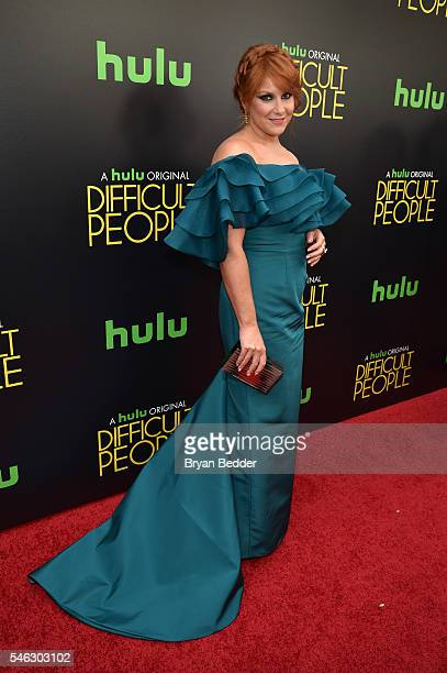 Creator producer and actor Julie Klausner attends the Hulu Original Difficult People premiere at Metrograph on July 11 2016 in New York City