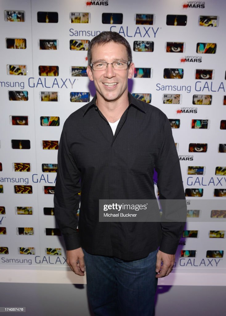 Creator Rob Thomas attends the after party for Veronica Mars at The Samsung Galaxy Experience on July 19, 2013 in San Diego, California.