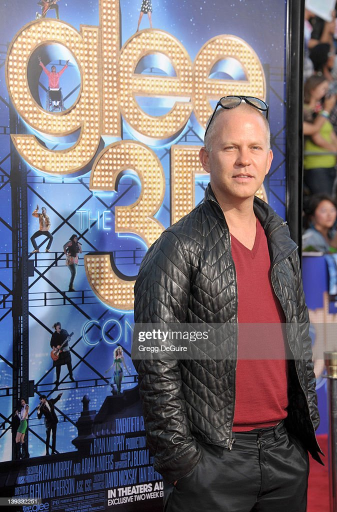 Creator Ryan Murphy arrives at the World Premiere of 'Glee The 3D Concert Movie' at the Regency Village Theater on August 6, 2011 in Westwood, California.