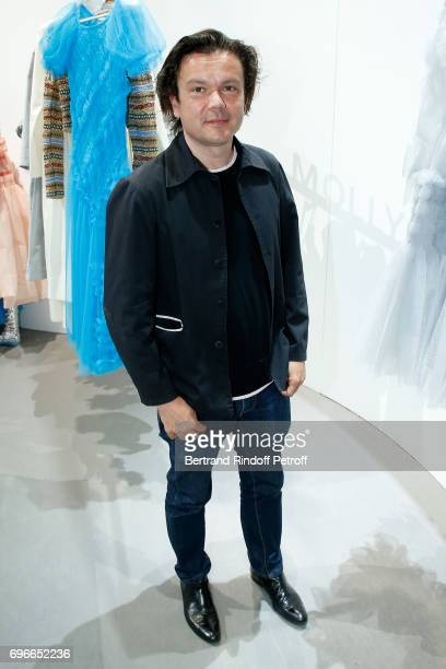 Creator Sculptor of the Prize JeanMichel Othoniel attends the 'Young Fashion Designer' LVMH Prize 2017 Edition at Fondation Louis Vuitton on June 16...