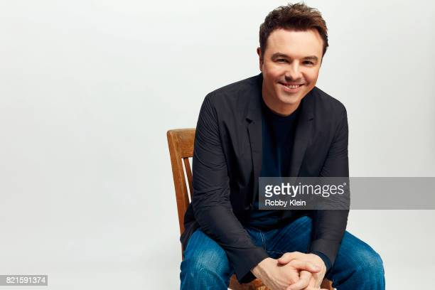 Creator Seth MacFarlane of FOX's 'The Orville' poses for a portrait during ComicCon 2017 at Hard Rock Hotel San Diego on July 22 2017 in San Diego...