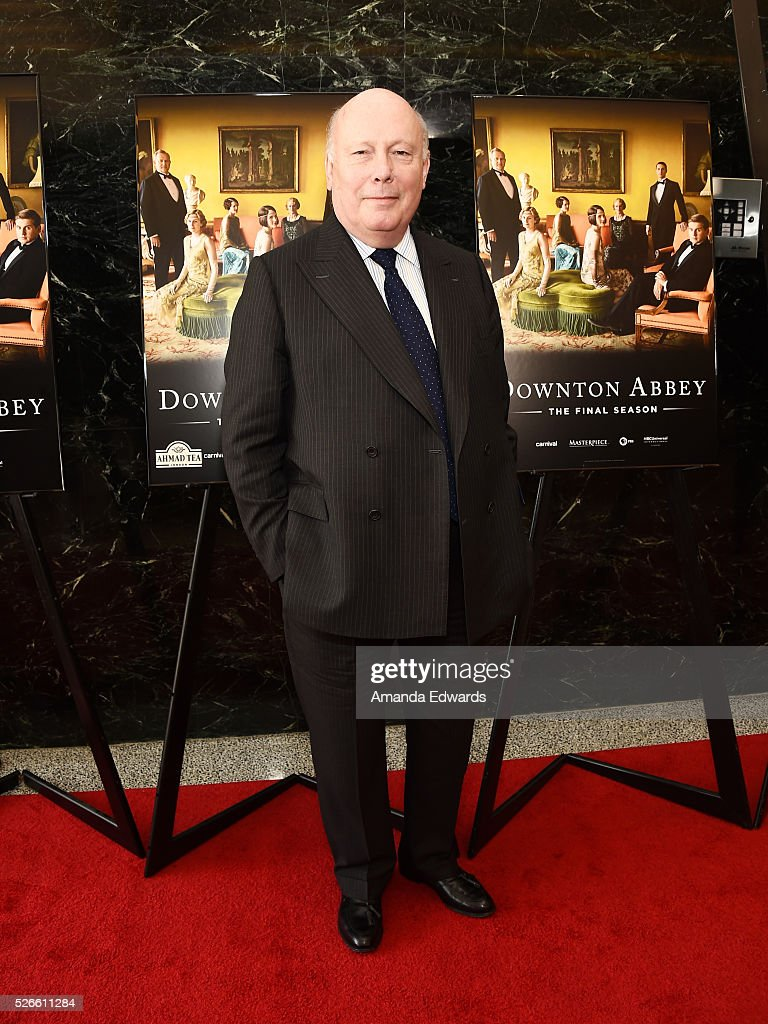 Creator, writer and executive producer <a gi-track='captionPersonalityLinkClicked' href=/galleries/search?phrase=Julian+Fellowes&family=editorial&specificpeople=224703 ng-click='$event.stopPropagation()'>Julian Fellowes</a> attends the 'Downton Abbey' For Your Consideration event and reception at the Linwood Dunn Theater at the Pickford Center for Motion Study on April 30, 2016 in Hollywood, California.