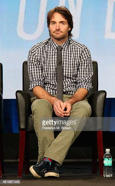 Creator/actor/executive producer Will Forte speaks onstage during the 'Last Man on Earth' panel discussion at the FOX portion of the 2015 Winter TCA...