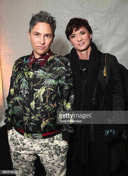Creator/director Jill Soloway and director Kimberly Peirce attend the premiere of Amazon Prime Video's 'I Love Dick' at The 2017 Sundance Film...