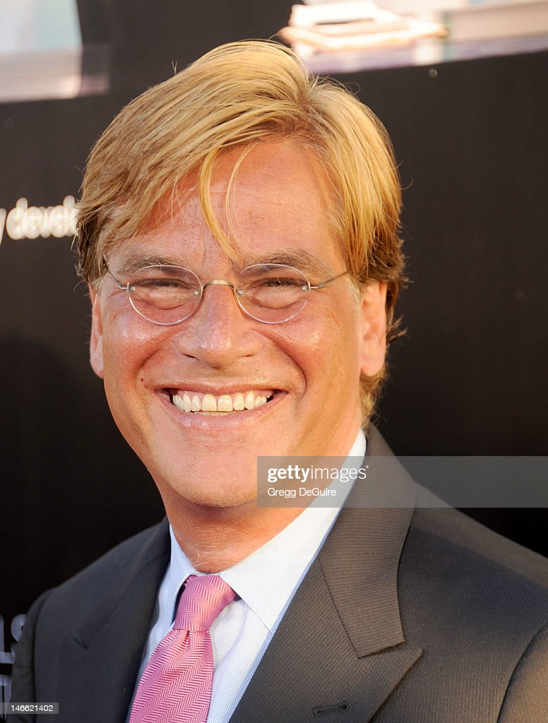 Creator/executive producer <a gi-track='captionPersonalityLinkClicked' href=/galleries/search?phrase=Aaron+Sorkin&family=editorial&specificpeople=673535 ng-click='$event.stopPropagation()'>Aaron Sorkin</a> arrives at the Los Angeles premiere of HBO's 'The Newsroom' at ArcLight Cinemas Cinerama Dome on June 20, 2012 in Hollywood, California.