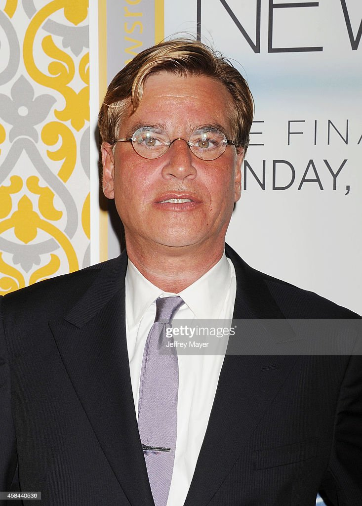 Creator/executive producer Aaron Sorkin attends the Los Angeles season 3 premiere of HBO's series 'The Newsroom' held at the DGA Theater on November...