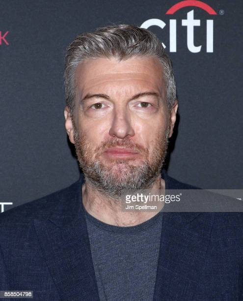 Creator/executive producer Charlie Brooker attends the PaleyFest NY 2017 'Black Mirror' screening at The Paley Center for Media on October 6 2017 in...