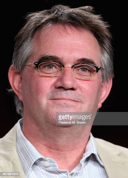 Creator/Executive Producer Hart Hanson speaks onstage during the 'Backstrom' panel discussion at the FOX portion of the 2015 Winter TCA Tour at the...