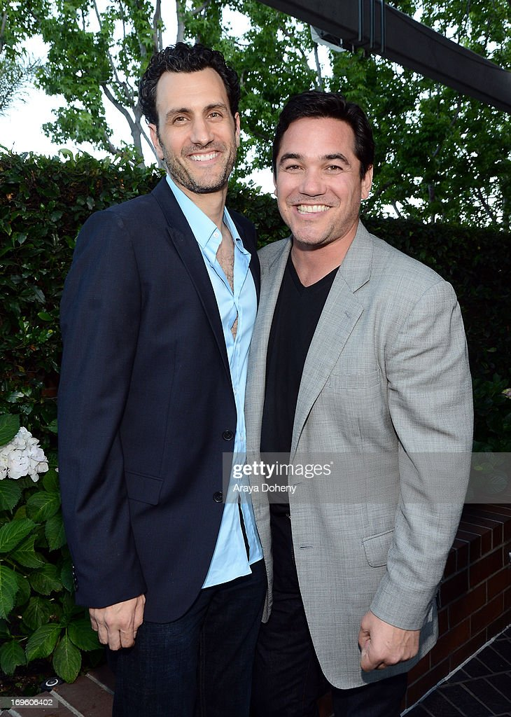 Creator/executive producer James LaRosa (L) and actor <a gi-track='captionPersonalityLinkClicked' href=/galleries/search?phrase=Dean+Cain&family=editorial&specificpeople=210672 ng-click='$event.stopPropagation()'>Dean Cain</a> attend VH1's 'Hit The Floor' screening at Tiato on May 28, 2013 in Santa Monica, California. V_HTF_05_26_13_0329.JPG