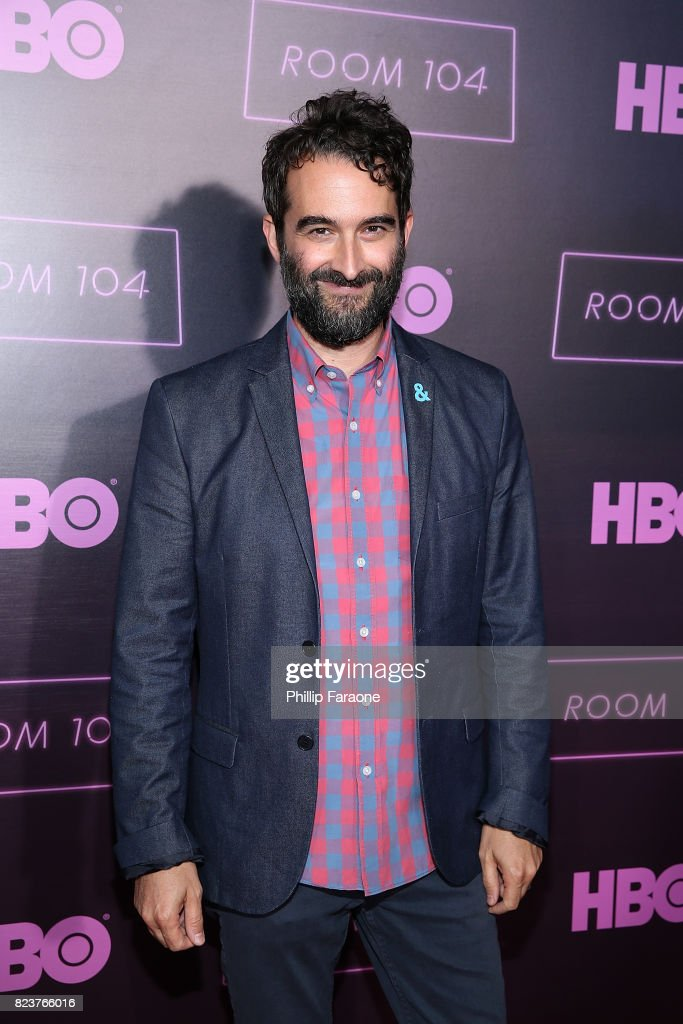 Creator/executive producer Jay Duplass attends the premiere of HBO's 'Room 104' at Hollywood Forever on July 27, 2017 in Hollywood, California.