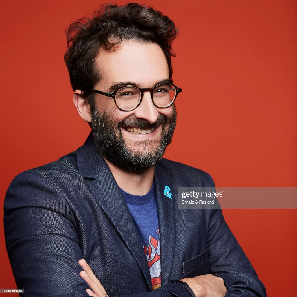 Creator/executive producer Jay Duplass of HBO's 'Room 104' poses for a portrait during the 2017 Summer Television Critics Association Press Tour at The Beverly Hilton Hotel on July 26, 2017 in Beverly Hills, California.