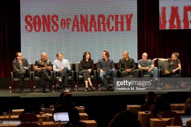 Creator/executive producer Kurt Sutter executive producer/director Paris Barclay actors Charlie Hunnam Katey Sagal Kim Coates Theo Rossi Dayton...