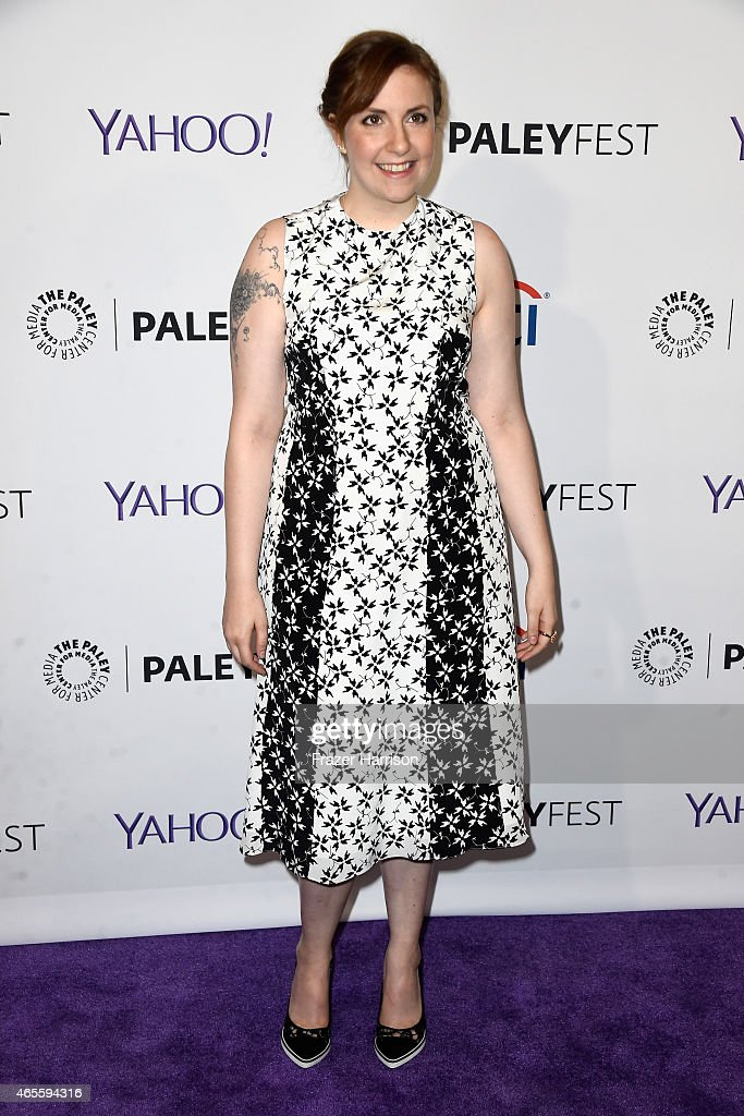 Creator/Executive producer Lena Dunham attends The Paley Center For Media's 32nd Annual PALEYFEST LA 'Girls' at Dolby Theatre on March 8 2015 in...