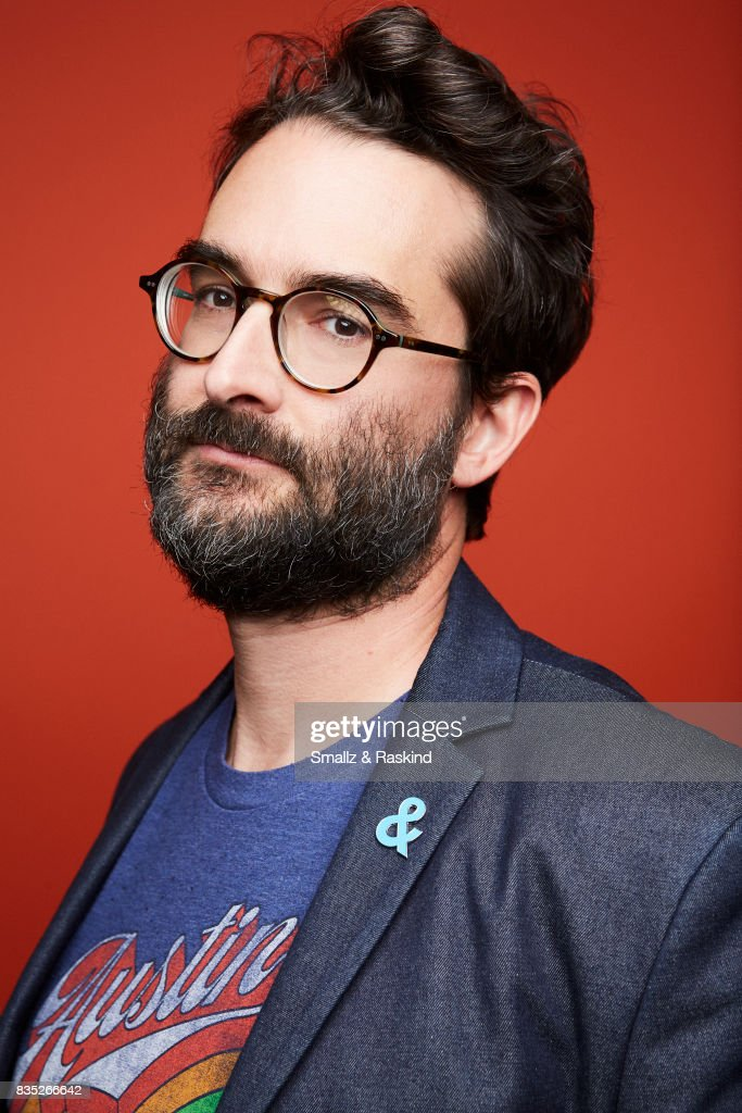 Creator/executive producer Mark Duplass of HBO's 'Room 104' poses for a portrait during the 2017 Summer Television Critics Association Press Tour at The Beverly Hilton Hotel on July 26, 2017 in Beverly Hills, California.