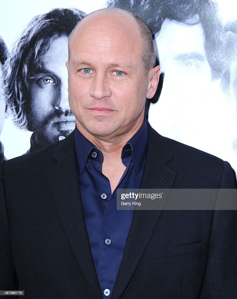 Creator/executive producer <a gi-track='captionPersonalityLinkClicked' href=/galleries/search?phrase=Mike+Judge&family=editorial&specificpeople=1145329 ng-click='$event.stopPropagation()'>Mike Judge</a> arrives at the premiere of 'Silicon Valley' on April 3, 2014 at Paramount Studios in Hollywood, California.