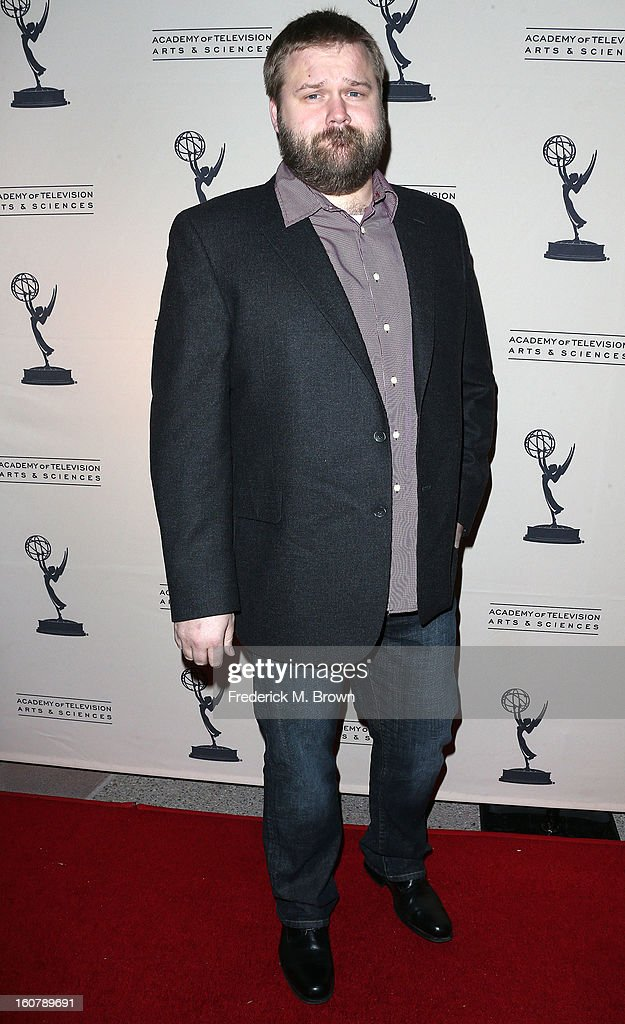 Creator/executive producer, Robert Kirkman attends The Academy Of Television Arts & Sciences Presents An Evening With 'The Walking Dead' at the Leonard H. Goldenson Theatre on February 5, 2013 in North Hollywood, California.