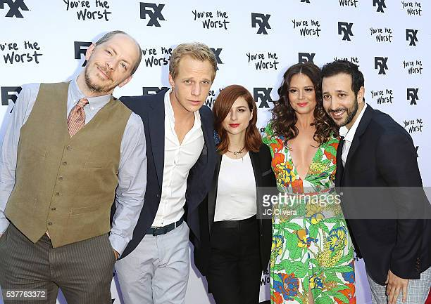 Creator/executive producer Stephen Falk and actors Chris Geere Aya Cash Kether Donohue and Desmin Borges attend For Your Consideration Event For FX's...