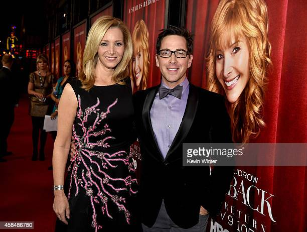 Creator/Executive Producer/actress Lisa Kudrow and Executive Producer/actor Dan Bucatinsky attend the premiere of HBO's 'The Comeback' at the El...