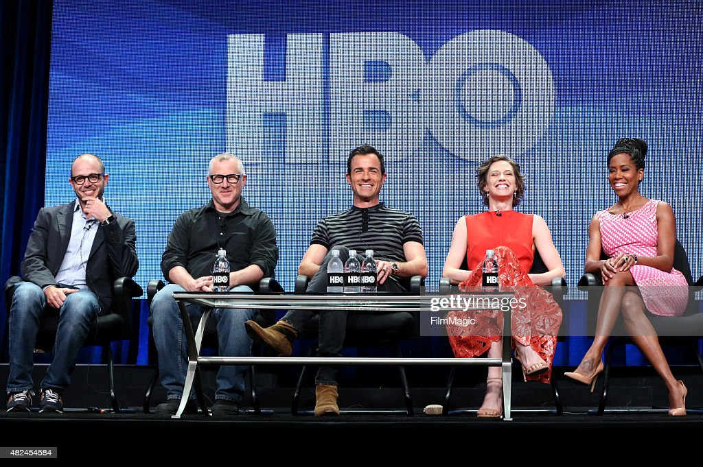 Creator/Executive Producer/Writer Damon Lindelof Creator/Executive Producer/Writer Tom Perrotta actors Justin Theroux Carrie Coon and Regina King...