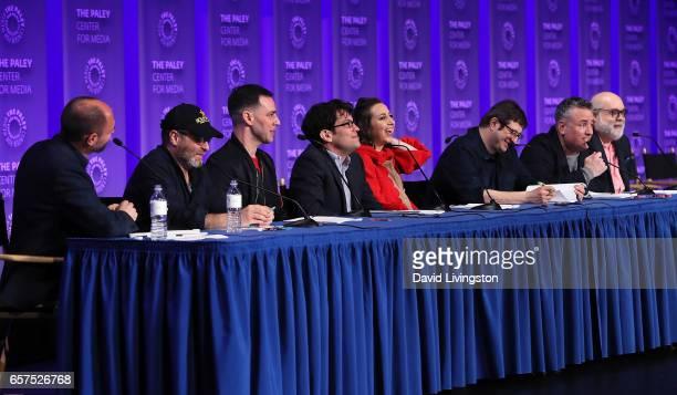 Creator/executive producer/writer Loren Bouchard actors H Jon Benjamin John Roberts Dan Mintz Kristen Schaal Eugene Mirman and Larry Murphy and...