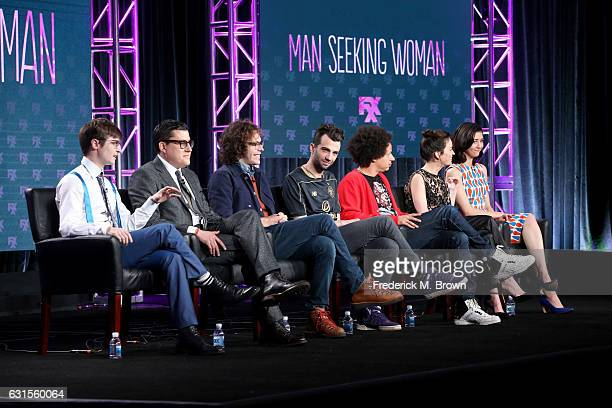 Creator/executive producer/writer Simon Rich executive producers Andrew Singer and Jonathan Krisel and actors Jay Baruchel Eric Andre Britt Lower and...