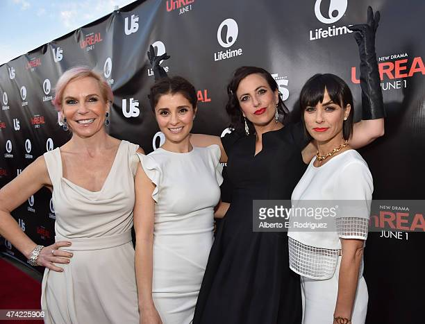 Creator/producer Marti Noxon actress Shiri Appleby creator/producer Sarah Gertrude Shapiro and actress Constance Zimmer attend Lifetime and Us...
