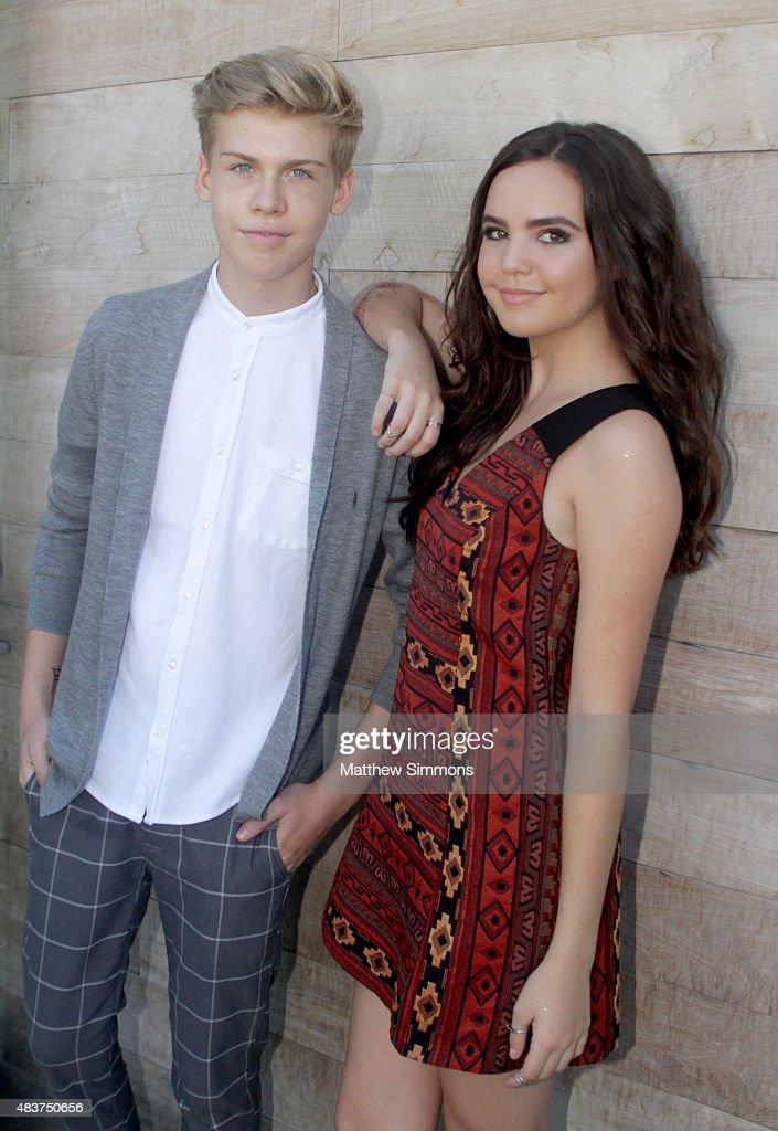 Bailee Madison and aidan alexander
