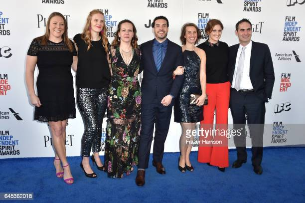 Creators of 'OJ Made in America' attend the 2017 Film Independent Spirit Awards at the Santa Monica Pier on February 25 2017 in Santa Monica...
