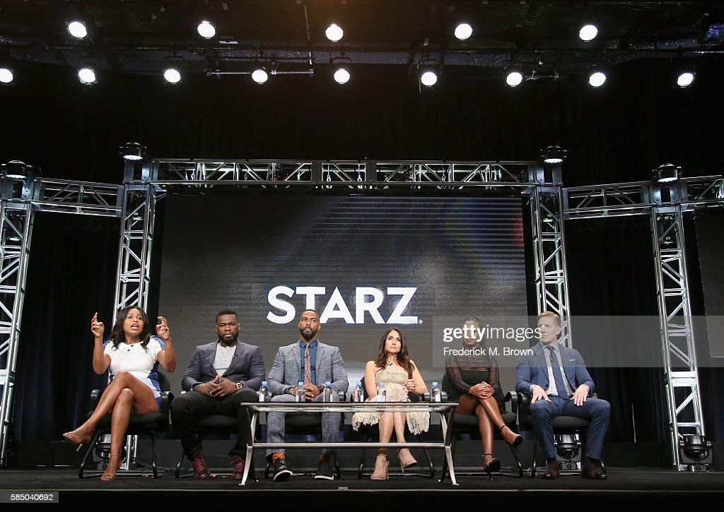 Creator/showrunner/executive producer Courtney A Kemp executive producer/actor Kurtis '50 Cent' Jackson actor Omari Hardwick Lela Loren Naturi...