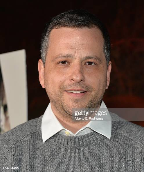 Creator/writer Aaron Guzikowski attends a screening of Sundance Channel's 'The Red Road' at The Bronson Caves at Griffith Park on February 24 2014 in...