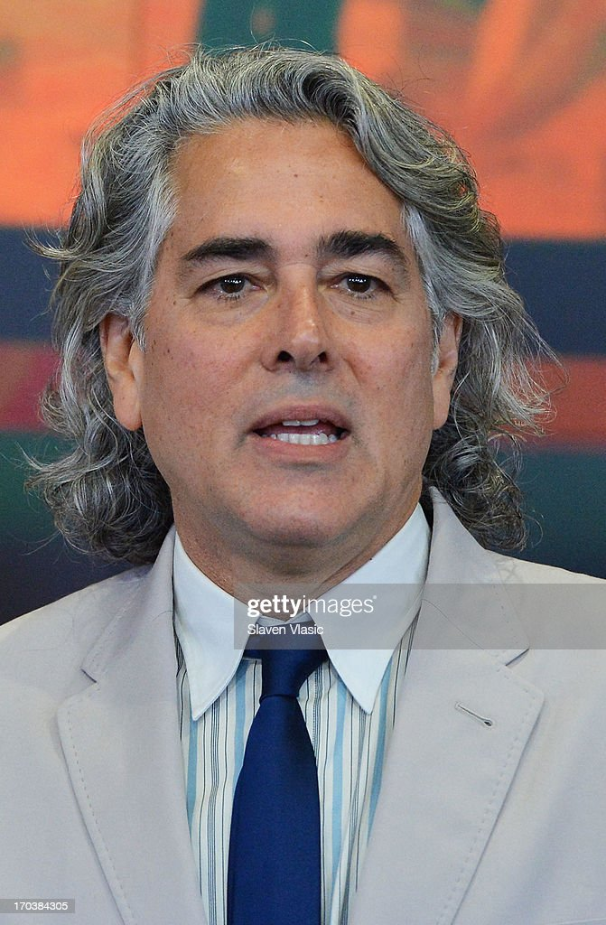 Creator/writer Mitch Glazer visits NASDAQ MarketSite on June 12, 2013 in New York City.