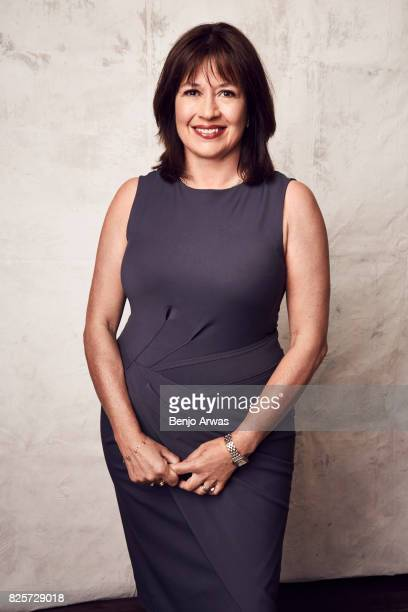 Creator/writer/executive producer Daisy Goodwin of PBS's 'Victoria' poses for a portrait during the 2017 Summer Television Critics Association Press...