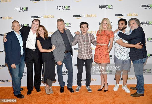 Creator/writer/executive producer Joe Gangemi actors Richard Kind Jennifer Grey Paul Reiser Craig Roberts Gage Golightly Ennis Esmer and...