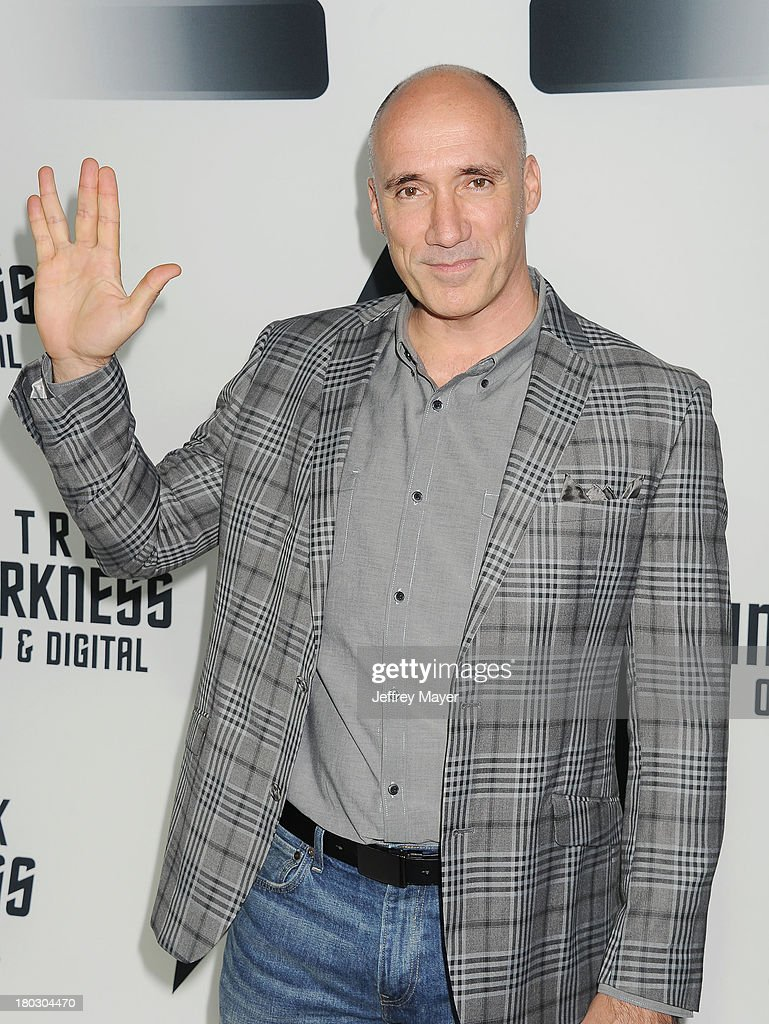Creature Designer Neville Page attends the Paramount Pictures' celebration of the Blu-Ray and DVD debut of 'Star Trek: Into Darkness' at California Science Center on September 10, 2013 in Los Angeles, California.