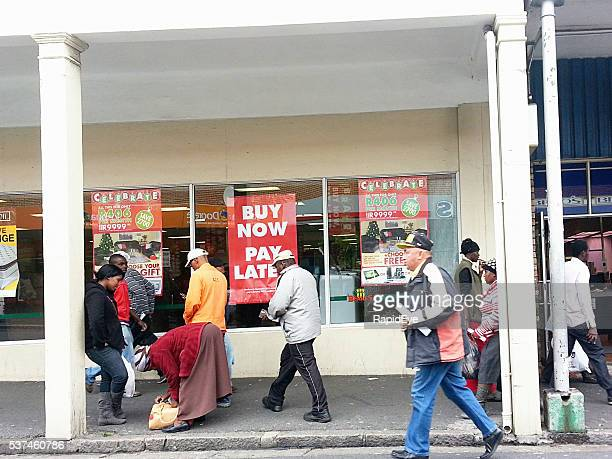 Credit, buy now pay later, Cape Town, street, shop,